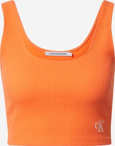 Calvin Klein Jeans Haut en orange, Vue avec produit