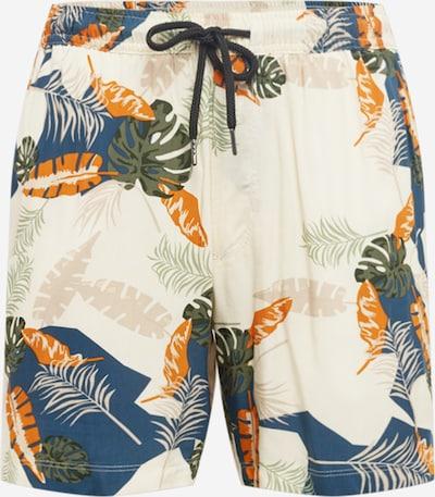 Redefined Rebel Shorts 'Elian' in beige / blau / grün / orange, Produktansicht