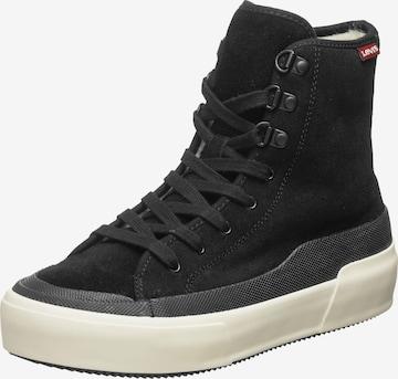 LEVI'S High-Top Sneakers 'Fara High' in Black