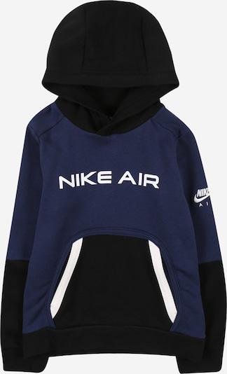 Nike Sportswear Sweatshirt 'Air' in nachtblau / schwarz / weiß, Produktansicht