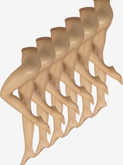 Nur Die Collant ' Transparent, 15 Den ' en beige, Vue avec produit