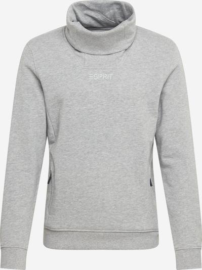 Felpa ESPRIT di colore grigio sfumato / bianco, Visualizzazione prodotti