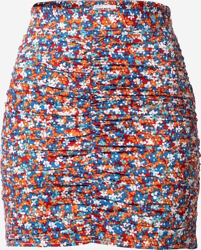 Fustă 'SKCOTRADI' Tally Weijl pe albastru / albastru deschis / portocaliu / roşu închis / alb, Vizualizare produs
