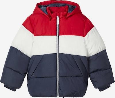 NAME IT Jacke in taubenblau / rot / weiß, Produktansicht