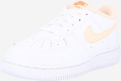 Nike Sportswear Sneaker 'Force 1' in pfirsich / weiß, Produktansicht