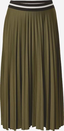Sijonas iš ESPRIT , spalva - rusvai žalia / juoda: Vaizdas iš priekio