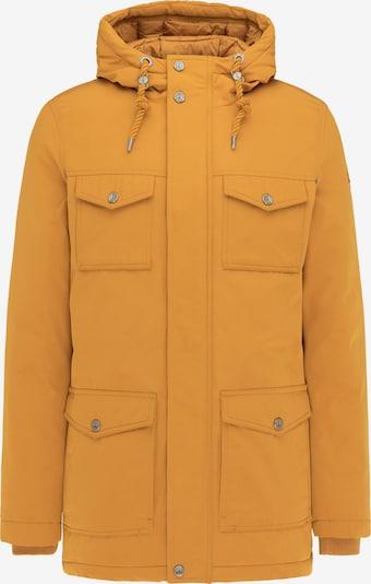 DreiMaster Vintage Winterjas in de kleur Mosterd, Productweergave