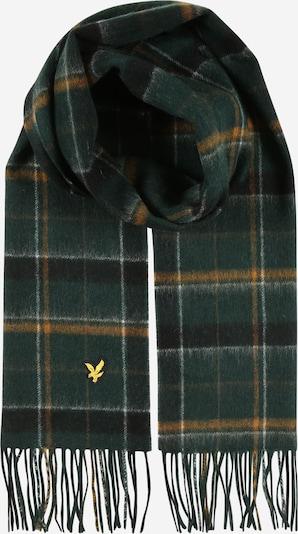 Lyle & Scott Schal 'Tartan' in gelb / jade / schwarz, Produktansicht