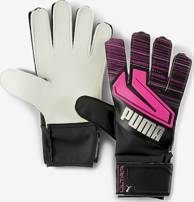 PUMA Sporthandschoenen 'ULTRA Grip 4 RC' in de kleur Pink / Zwart / Wit, Productweergave