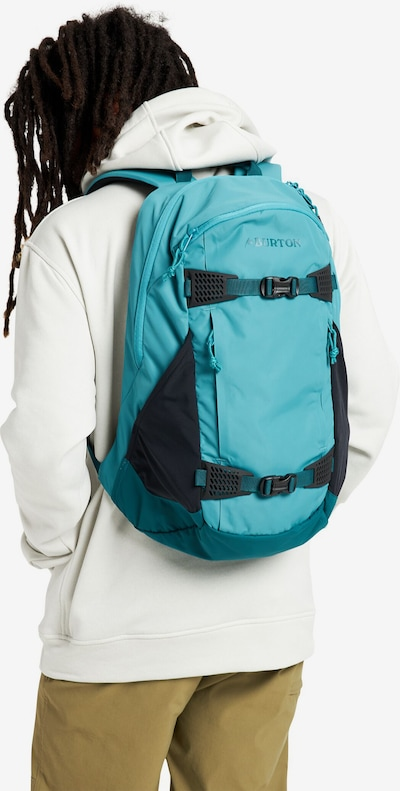 BURTON Backpack in Turquoise: Frontal view