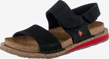 ART Sandale in Schwarz