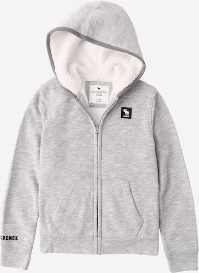 Abercrombie & Fitch Sweatjacke in dunkelgrau / graumeliert, Produktansicht