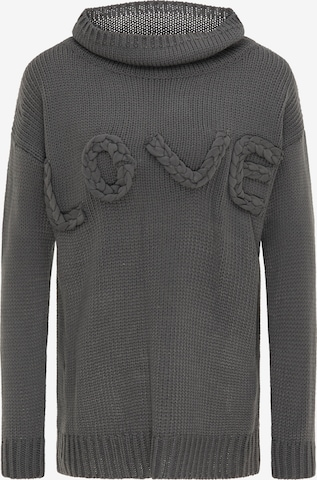 IZIA Sweater in Grey
