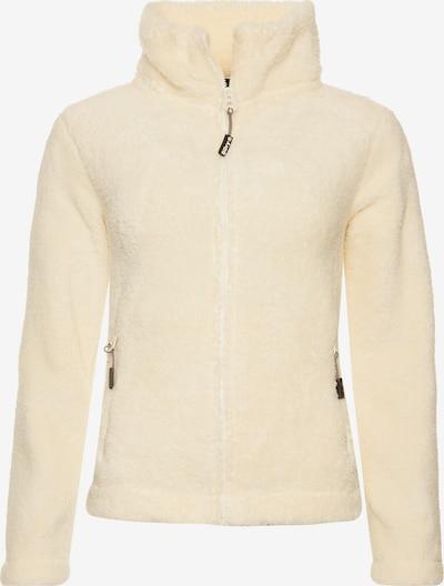 Superdry Fleece jas 'Hybrid' in de kleur Wit, Productweergave