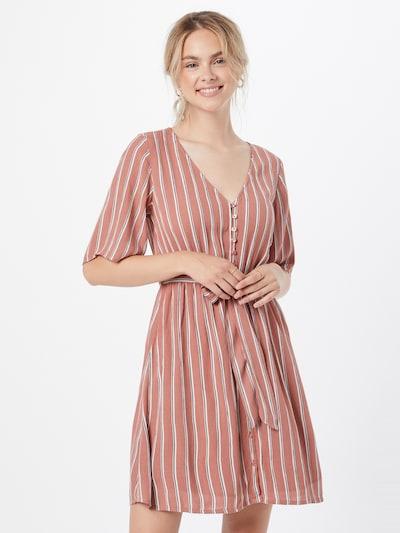 ABOUT YOU Kleid 'Aylin' in mischfarben / rostrot, Modelansicht