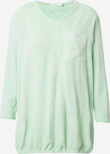 CECIL Shirt in de kleur Mintgroen, Productweergave