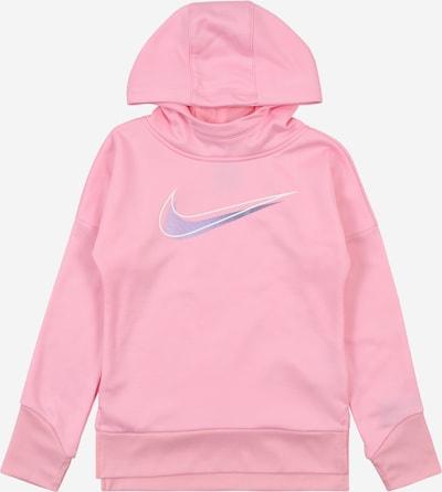 Nike Sportswear Sweatshirt in blau / hellpink / weiß, Produktansicht