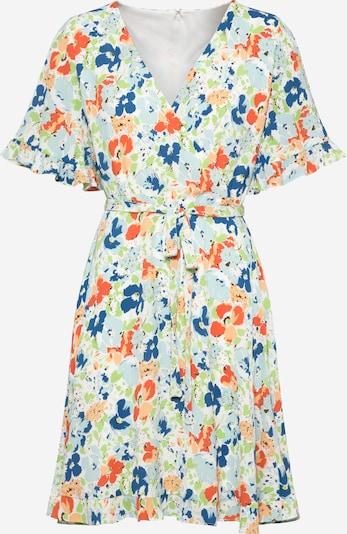 Lauren Ralph Lauren Kleid 'ALANETTA' in hellblau / dunkelblau / hellgrün / orange, Produktansicht