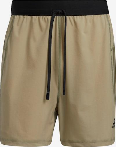 ADIDAS PERFORMANCE Sportbroek in de kleur Kaki / Zwart, Productweergave