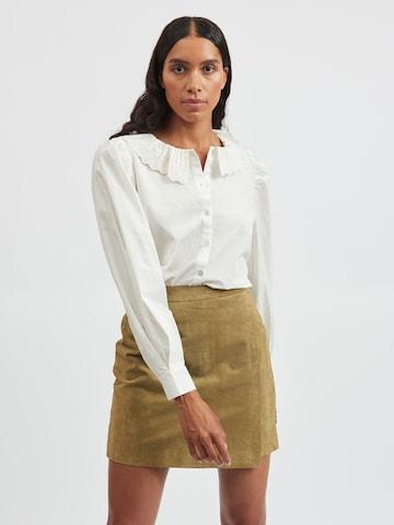 VILA Bluse 'Nesia' in Weiß