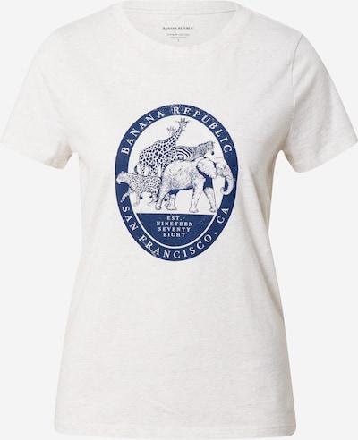Banana Republic T-Shirt in saphir / weiß, Produktansicht