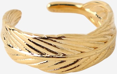 Orelia Ohrring 'Feather' in gold, Produktansicht