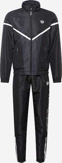 Îmbrăcaminte sport Sergio Tacchini pe gri închis / negru / alb, Vizualizare produs
