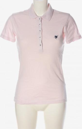 CULTURE Polo-Shirt in S in pink / schwarz, Produktansicht