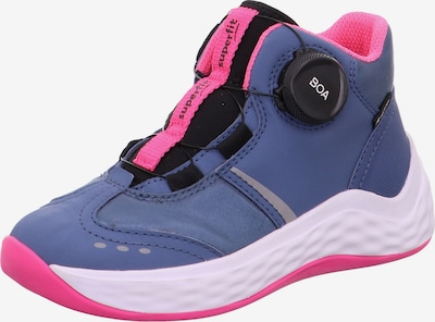 SUPERFIT Trainers 'Bounce' in Dusty blue / Light grey / Pink / Black, Item view
