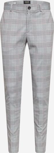 """""""Chino"""" stiliaus kelnės 'Marco Phil' iš JACK & JONES , spalva - antracito / šviesiai pilka / tamsiai raudona / balta, Prekių apžvalga"""