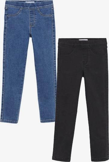 MANGO KIDS Jeans in blau / schwarz, Produktansicht