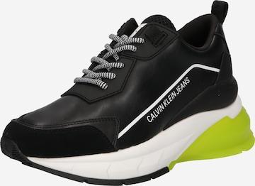 Sneaker low de la Calvin Klein Jeans pe negru