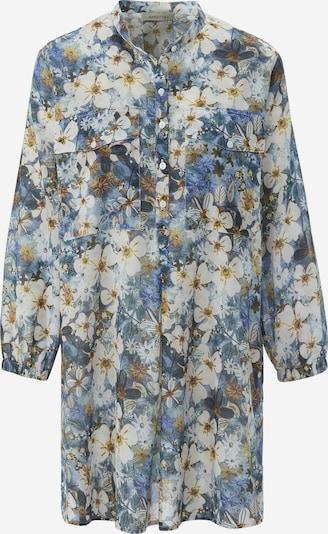 MARGITTES Bluse in blau / weiß, Produktansicht