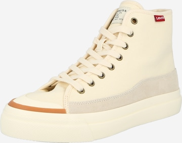 LEVI'S High-Top Sneakers 'SQUARE' in Beige