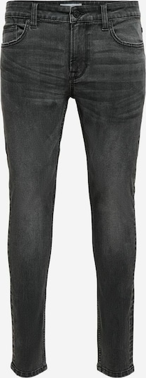 Only & Sons ONSWarp Life Skinny Fit Jeans in schwarz, Produktansicht
