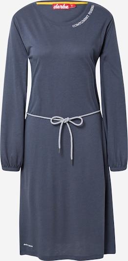 Derbe Kleid in taubenblau / weiß, Produktansicht