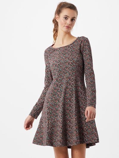EDC BY ESPRIT Kleid  'Flow' in mischfarben / schwarz, Modelansicht