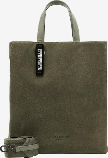 Liebeskind Berlin Handtasche en kaki, Vue avec produit