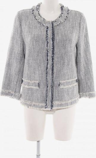 S.MILTON Tweedblazer in L in dunkelblau / wollweiß, Produktansicht