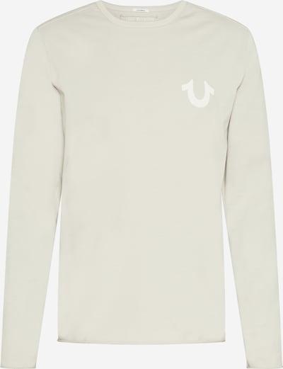 True Religion Shirt in de kleur Lichtgrijs / Wit, Productweergave
