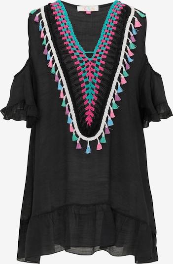 IZIA Tunika w kolorze turkusowy / różowy / czarny / naturalna bielm, Podgląd produktu