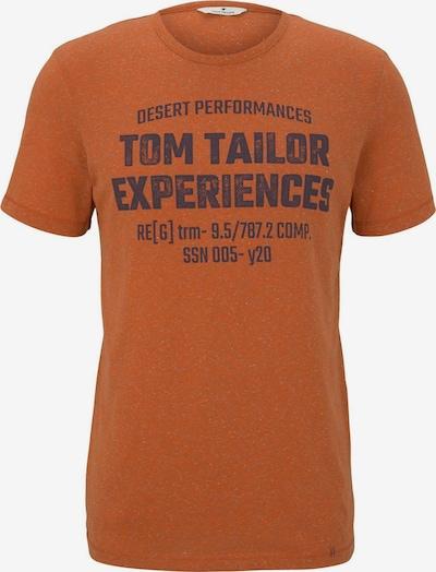 TOM TAILOR Shirt in de kleur Sinaasappel, Productweergave