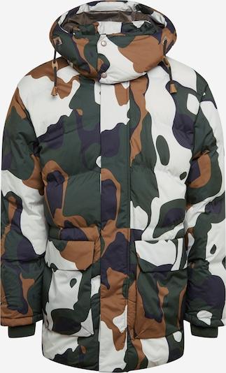 ICEPEAK Outdoorjas in de kleur Kaki / Olijfgroen / Wit, Productweergave