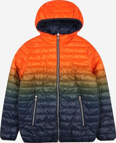 OVS Tussenjas in de kleur Marine / Sinaasappel, Productweergave
