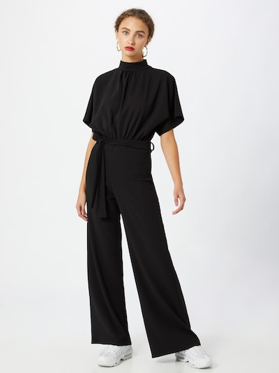 SISTERS POINT Jumpsuit 'GIRL-JU' en negro, Vista del modelo