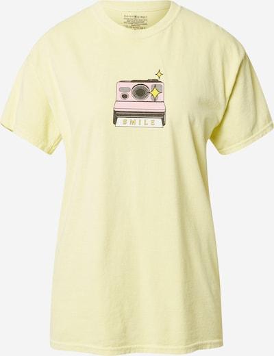 Daisy Street T-Krekls 'TYLER', krāsa - gaiši dzeltens / jauktu krāsu, Preces skats