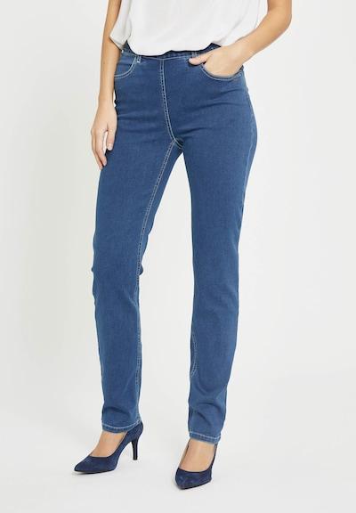 LauRie Jeans 'Kelly' in de kleur Blauw, Modelweergave