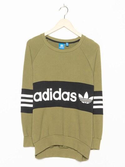 ADIDAS Sweatshirt in M in oliv, Produktansicht