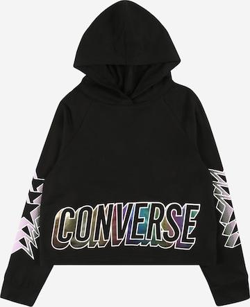 CONVERSE Sweatshirt in Black