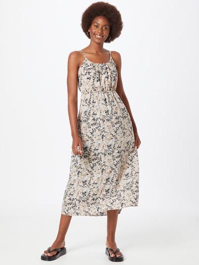 VERO MODA Kleid 'Sasha' in beige / mischfarben / rosa / schwarz, Modelansicht